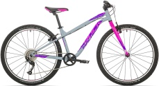 Rock Machine Thunder 26 (XS) gloss grey/pink/Violet 2021